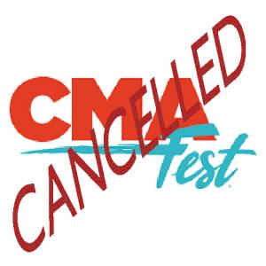 CMA Festival 2020 cancelled